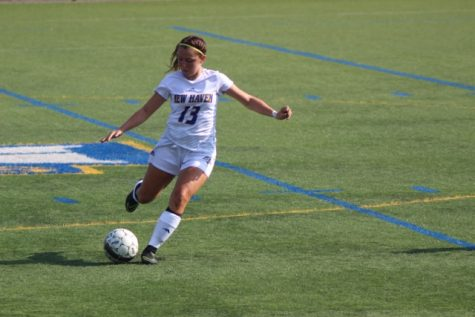 Women's Soccer Earns First Conference Win