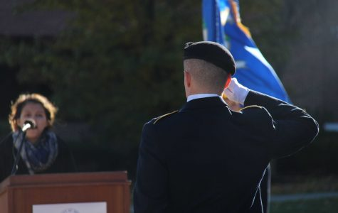 Veterans Day at UNH: Photo Gallery