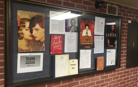 Library Display to Honor Transgender Awareness Week