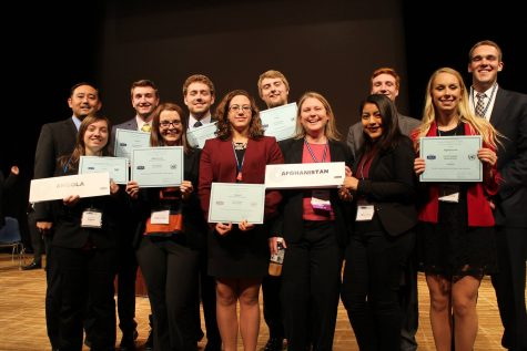 UNH Model United Nations Wins Overseas