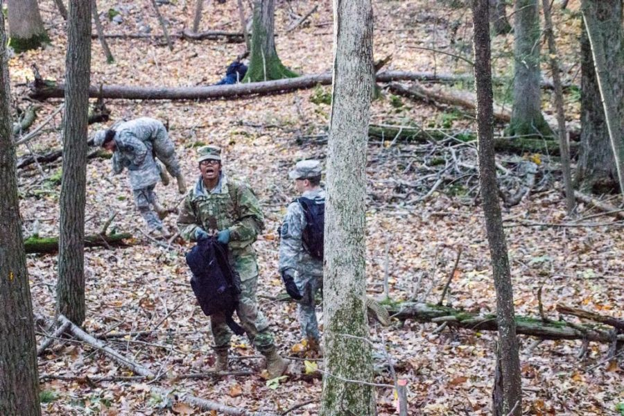 ROTC Goes Into the Woods