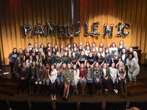 Panhellenic Council's Host Spring Recruitment