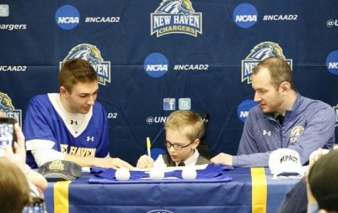 Isaiah Lamb, 5, Becomes Youngest Member of the UNH Men's Lacrosse Team