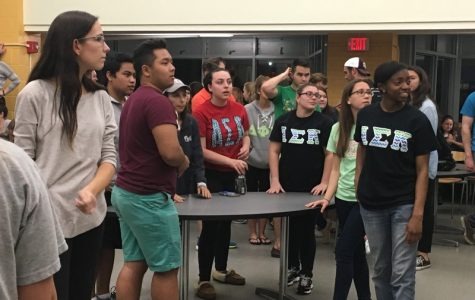 Greeks Face-Off in Greek Week