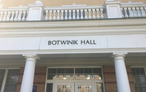 "Botwinik Hall to Be Renamed ""Gerber Hall"""