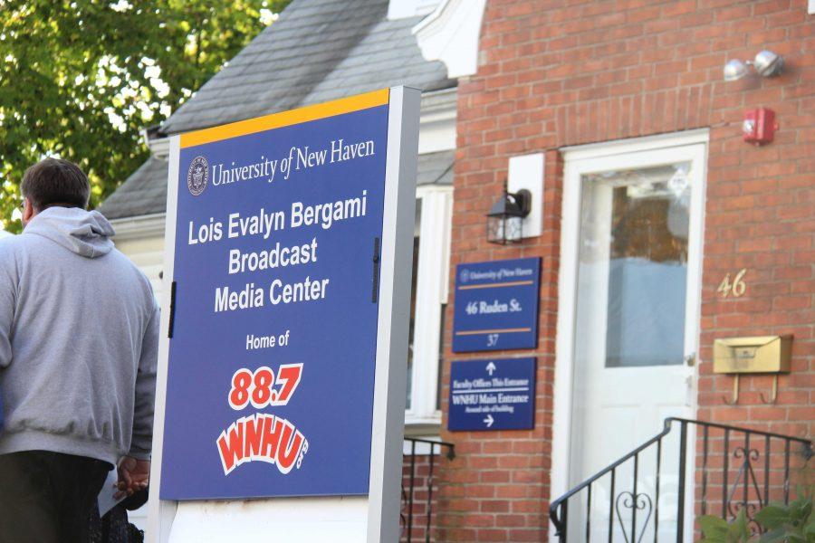 WNHU Studios Renamed Lois Evalyn Bergami Broadcast Media Center
