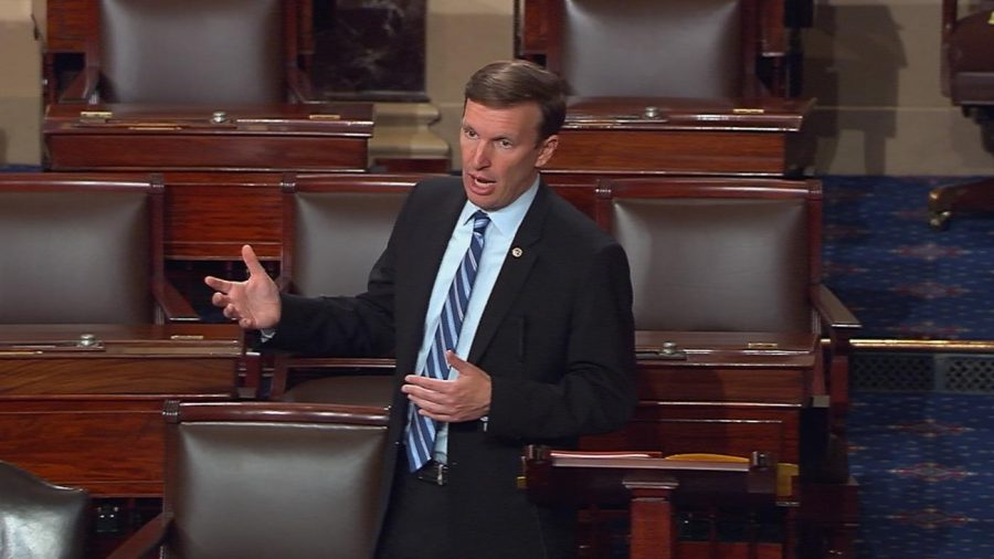 Sen.+Chris+Murphy+of+Connecticut+said+on+Twitter+that+he+was+prepared+to+%22talk+about+the+need+to+prevent+gun+violence+for+as+long+as+I+can.%22
