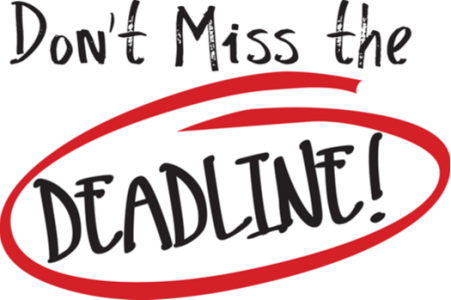 Deadlines are Really, Really Important - The Charger Bulletin