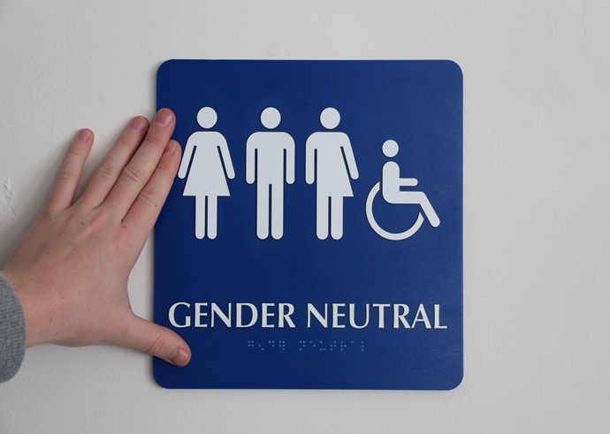 You've Been Using a Gender-Neutral Bathroom this Whole Time