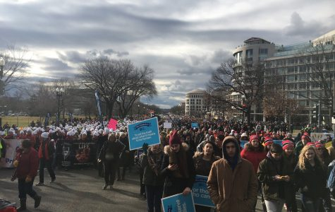 Marching for Life in Washington D.C.