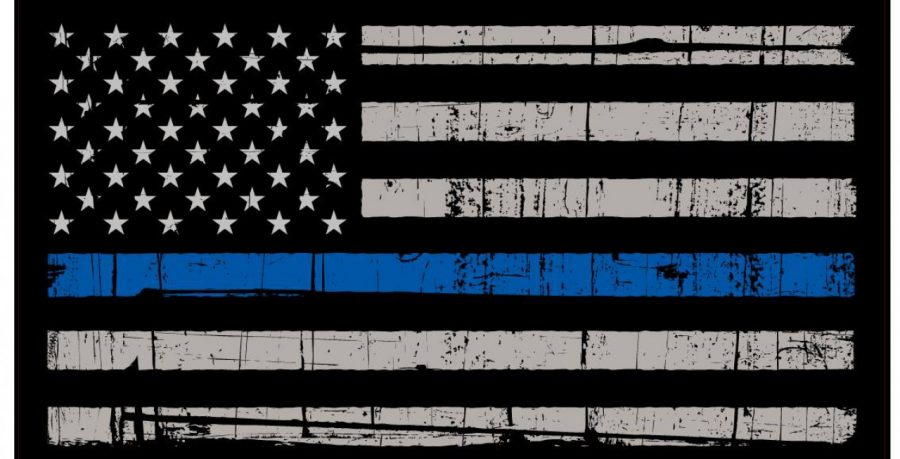 """I see many students on this campus walk around with """"Blue Lives Matter""""  apparel  from the hats to the t-shirts to the pants and even the flag in  their room ... 42dbce77f70"""