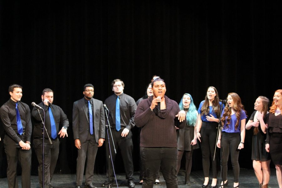 Fully Charged Hosts 4 A Cappella Groups at Spring Invitational