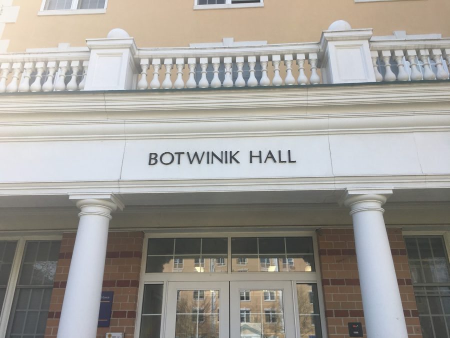 Botwinik Hall to Be Renamed