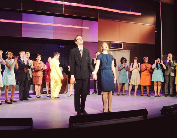 University Theater Department Performs How to Succeed in Business Without Really Trying