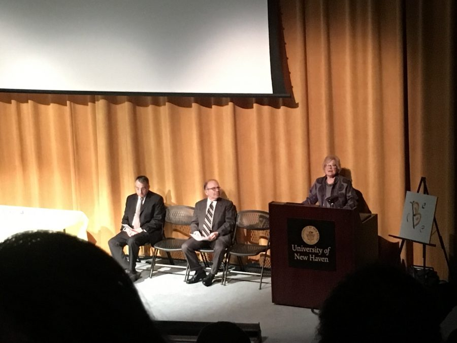 Holocaust Survivor Tells Her Story to UNH
