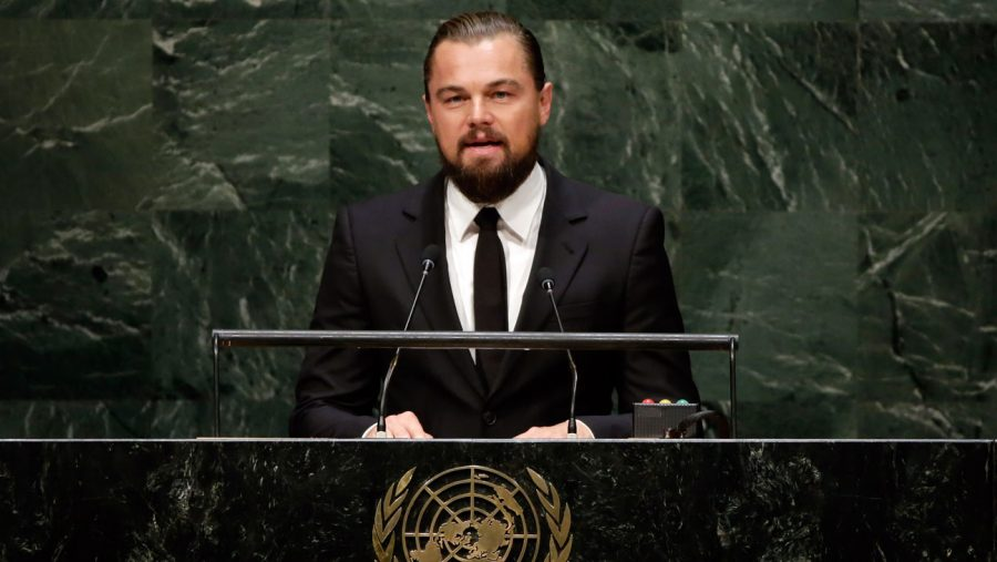 Leonardo+DiCaprio%2C+actor+and+United+Nations+Messenger+of+Peace%2C+addresses+the+Climate+Change+Summit%2C+at+U.N.+headquarters%2C+Tuesday%2C+Sept.+23%2C+2014.+%28AP+Photo%2FRichard+Drew%29