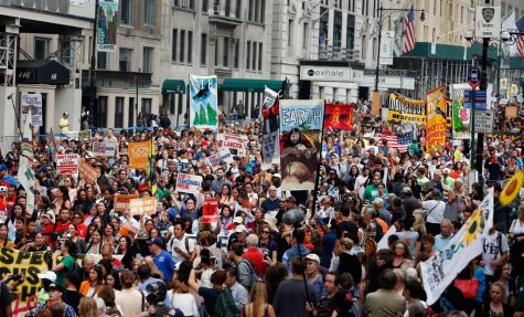 Thousands March for Climate in Washington D.C.