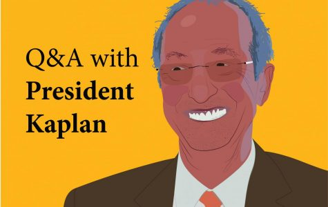 President Kaplan on Housing, Gerber Hall, and More (Q&A)