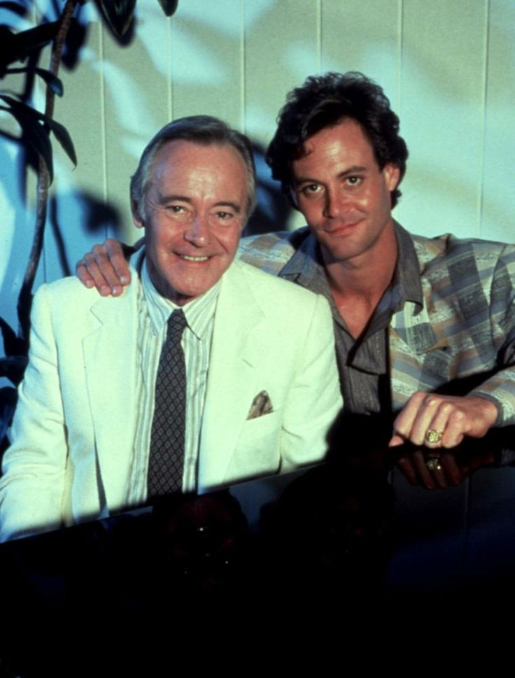 Professor+Chris+Lemmon+and+father%2C+Jack+Lemmon+