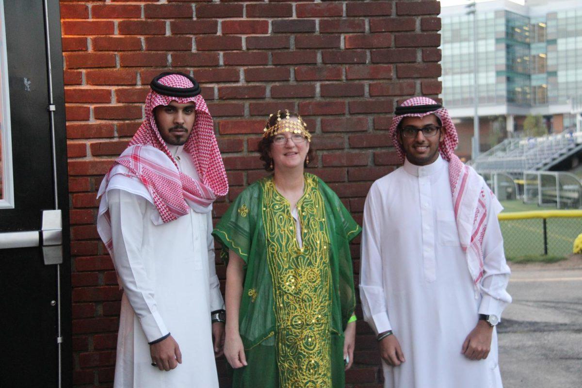 Students Celebrate Saudi Culture