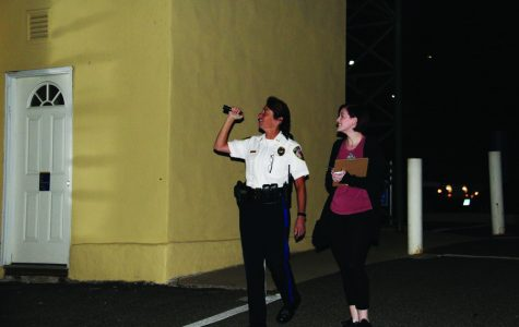 Admin, Students Take a Walk for Safety