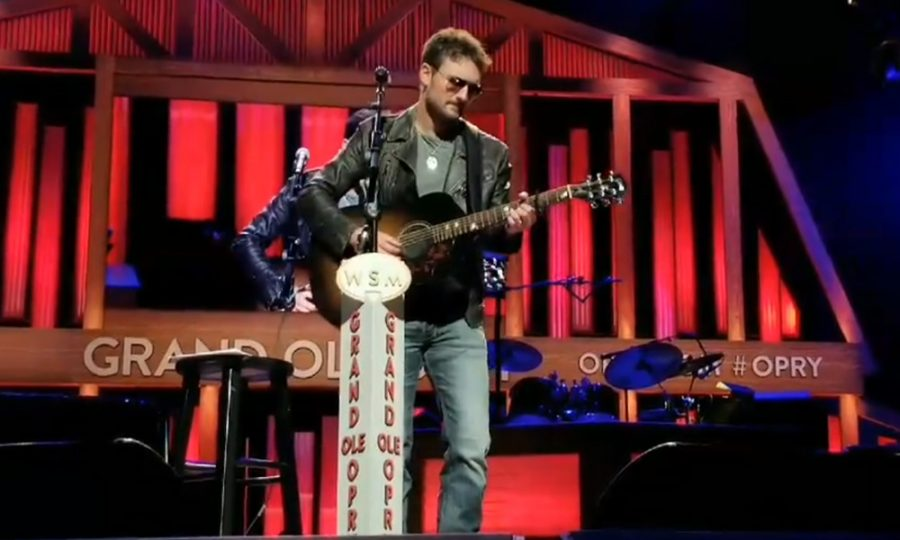 Eric Church Shares Tribute to Victims of Las Vegas Shooting