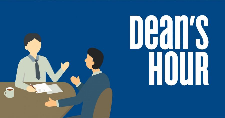 Dean's Office Holds Dean's Hour