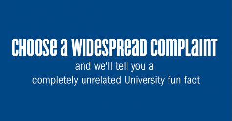 QUIZ: Choose a Widespread University Complaint and We'll Tell You a Completely Unrelated Fun Fact