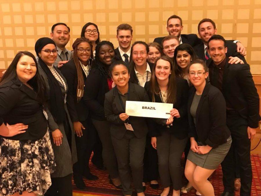 Model United Nations Team Scores Outstanding Delegation, 7 Other Awards