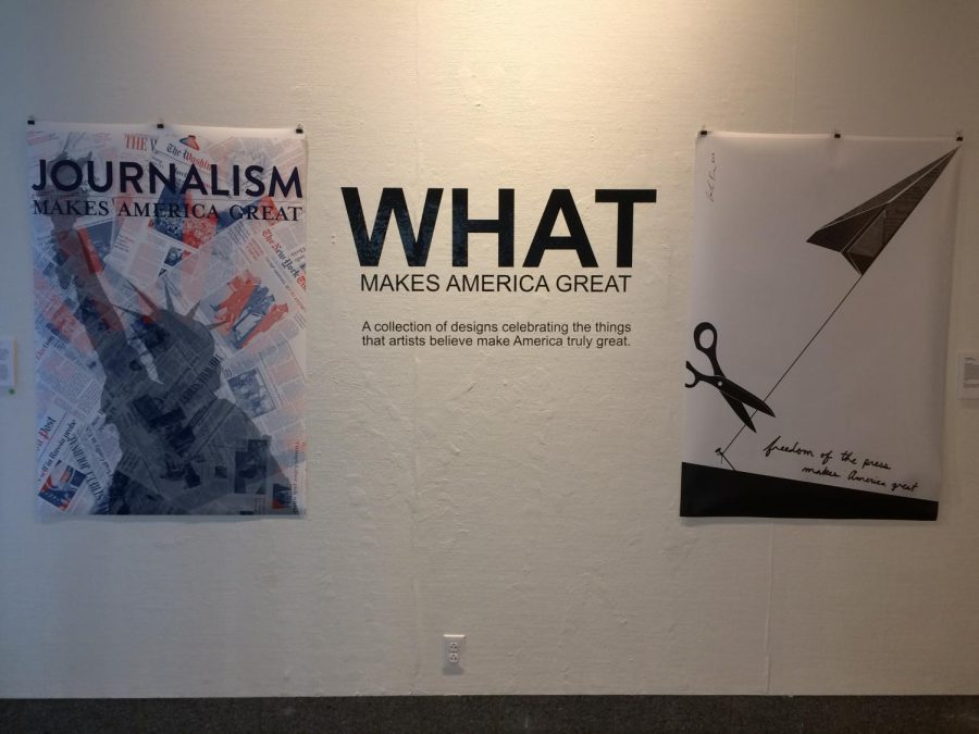 """Seton Gallery Presents """"What Makes America Great"""""""