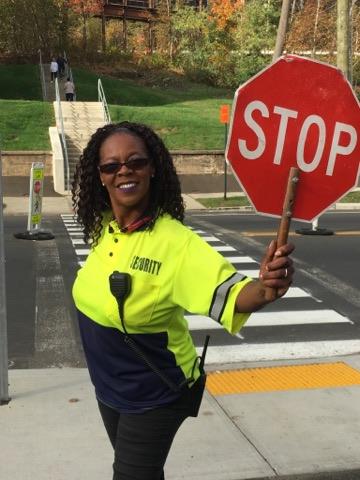 Roxy Green, the University's Favorite Crossing Guard