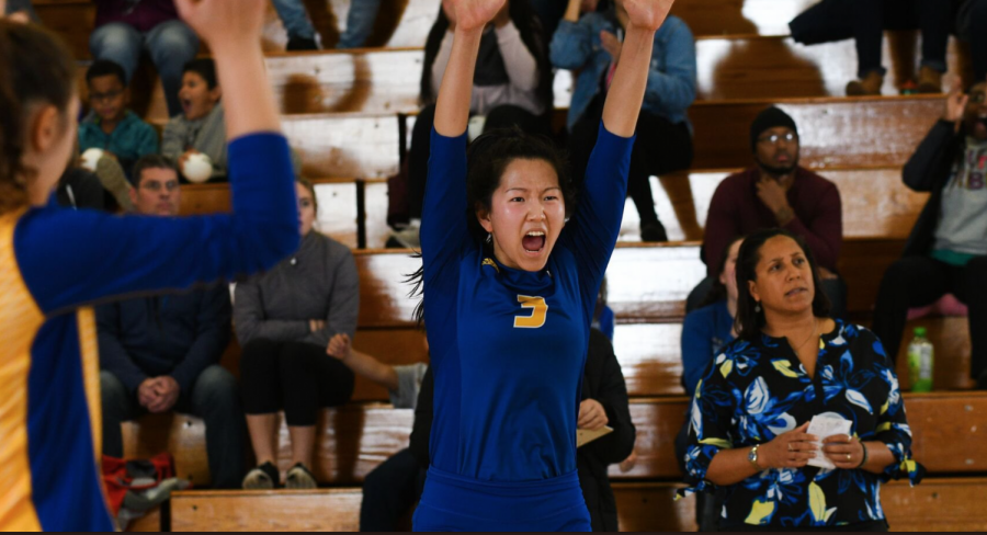Women's Volleyball Sweeps Caldwell to Advance to NCAA Semifinals