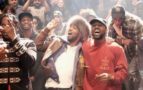 Kanye West Reappears Onstage Beside Kid Cudi