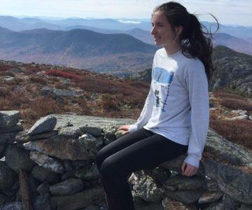 University Student Running for Cancer