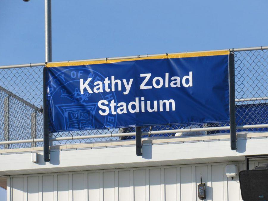 Stadium at Kayo Field Dedicated to Kathy Zolad