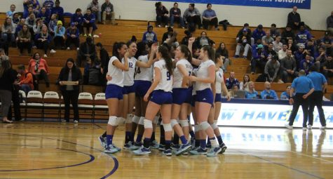 Women's Volleyball Downs Merrimack, 3-0