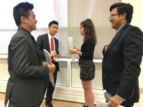 Model UN Team Hosts Regional High School Conference