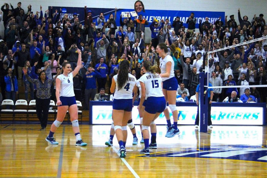 Women's Volleyball Crowned NCAA D2 East Region Champs