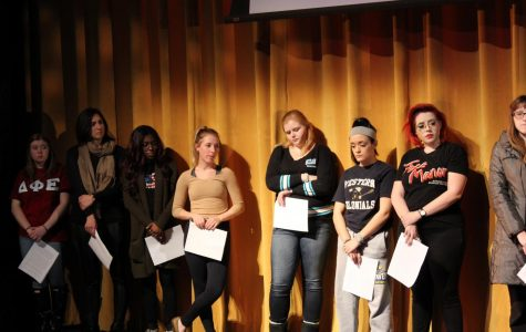 """Victimology Club Hosts """"Faces of Domestic Violence"""""""