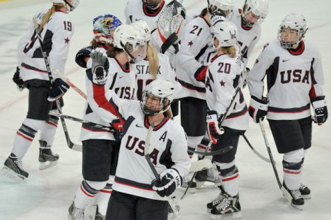 United States Women Hockey is Bold in Gold