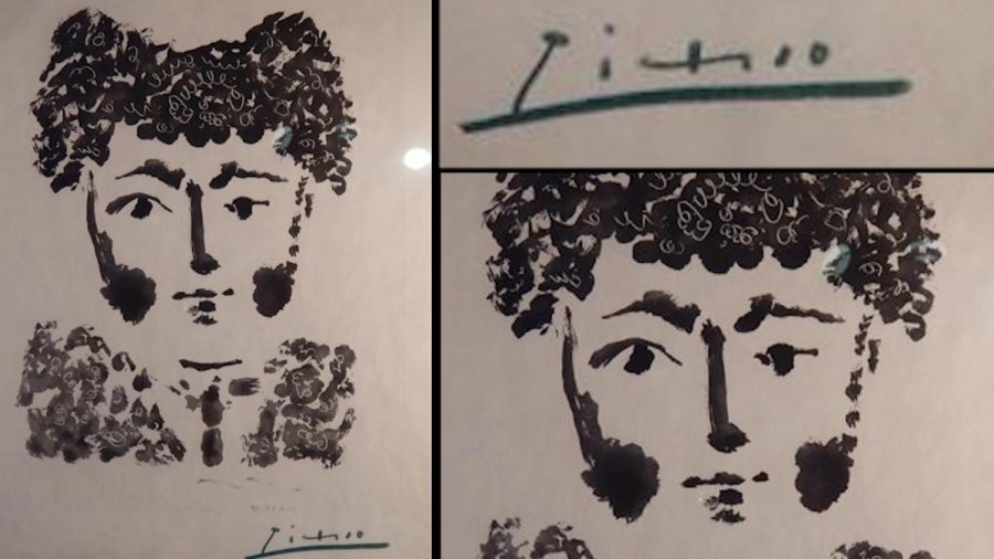 Valuable Picasso Print Worth $50,000 Stolen