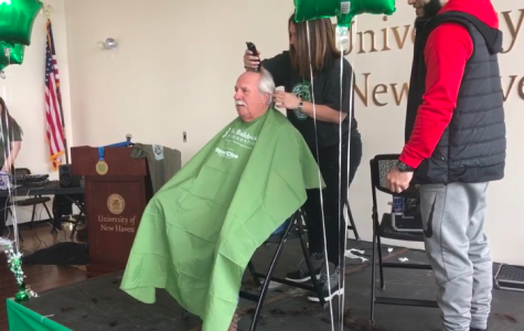 "Volunteers shave it off at first ""Brave the Shave"" fundraiser"