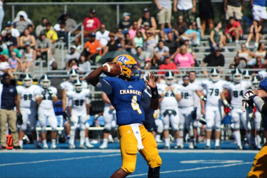 Chargers Rush to Homecoming Victory