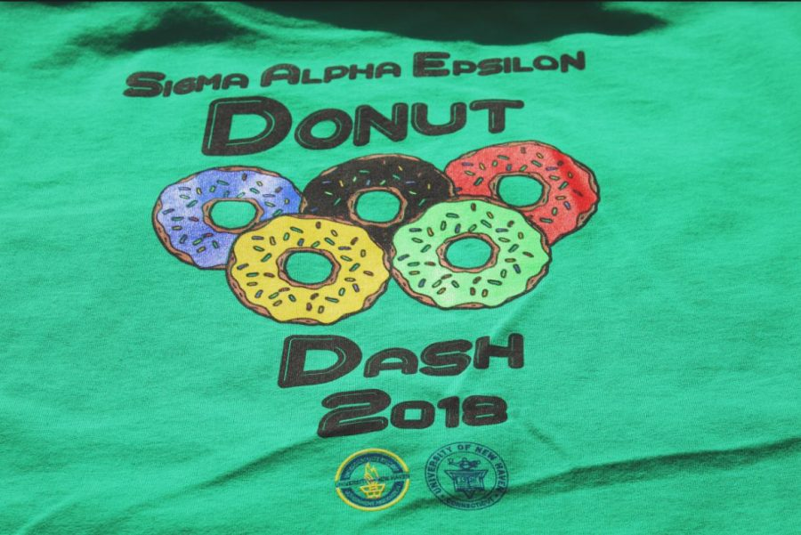 All Participants received a Donut Dash t-shirt.