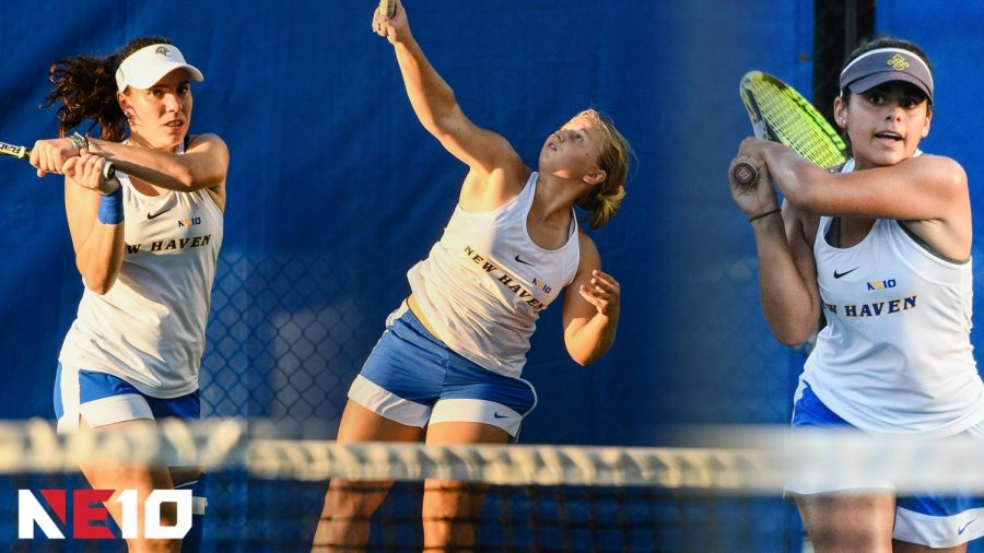 Tennis Gets Knocked Out of NE-10 in First Round