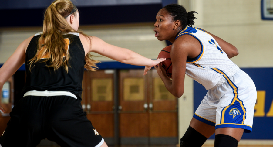 Women's Basketball Falls to Adelphi