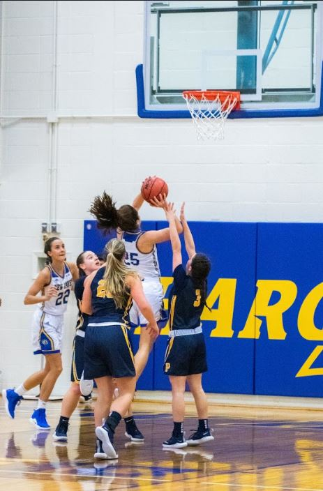 Women's basketball fought hard against Pace on Wednesday.