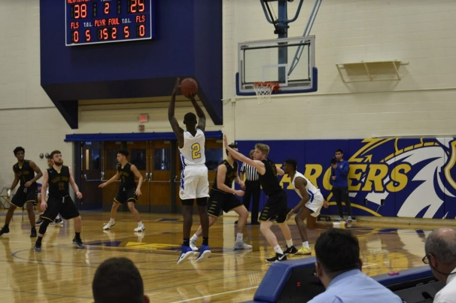 Men's basketball came out with a win against the Golden Knights.