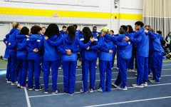 Women's Track and Field Goes for Gold