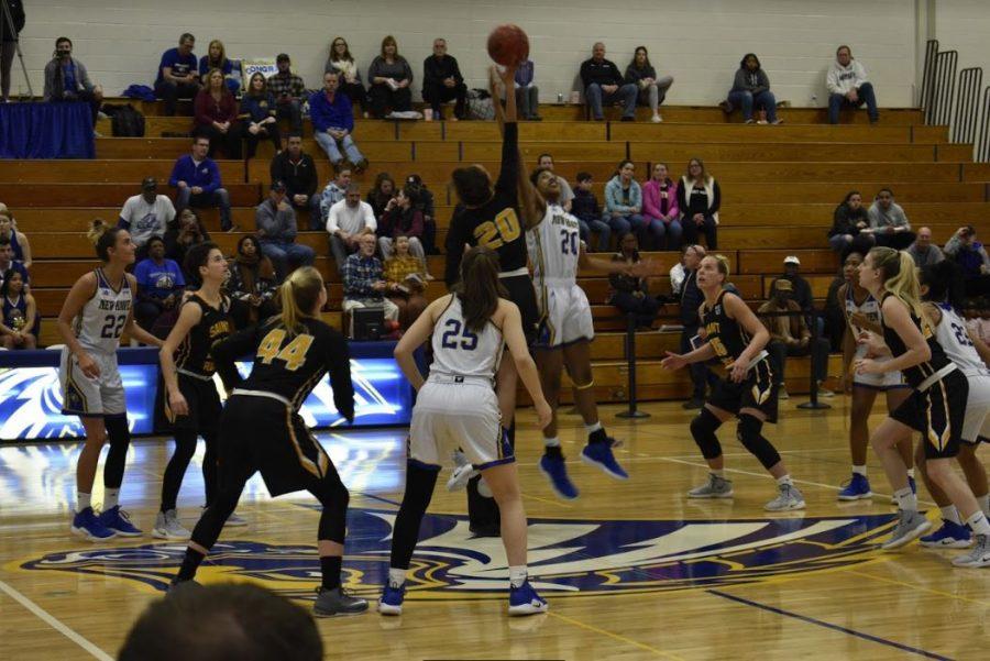 Women's basketball went head to head against Saint Rose.
